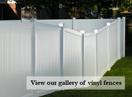Picture link to view Commercial Vinyl Fence Gallery