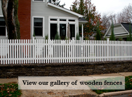Link for Residential Wooden Fencing Gallery